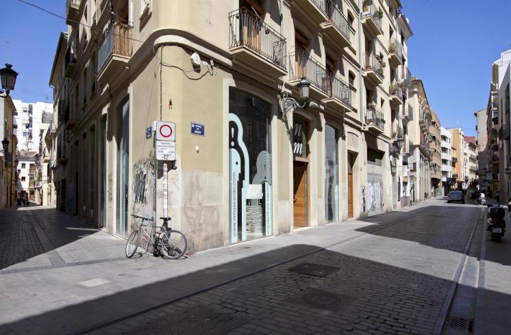Exclusivo local comercial en el casco antiguo de Valencia.