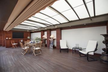Piso con terraza en venta en el centro de Valencia.