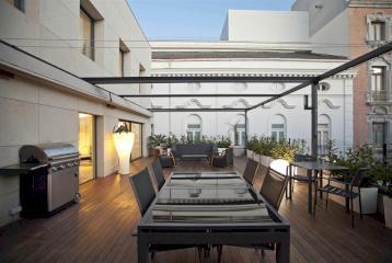 Ático con terraza y vistas en la Xerea, Valencia.